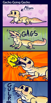 Gecko Going Gecko by Reptonic