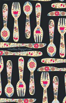 Utensils 2 by RiRiWillow