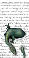 dragon bookmarker by Hagge