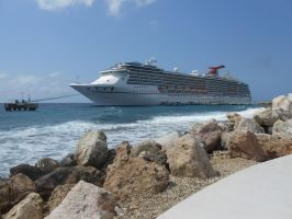 The Cruise ship the Carnival Pride by OceanRailroader