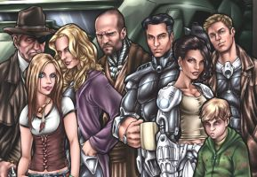 Rifts Group Shot Color Detail by AdamWithers