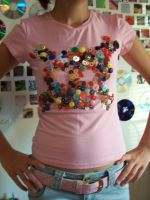 Buttons Tshirt by BenandJerries