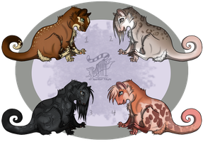 Shimmikie Spots [CLOSED] by ResidualAdopts