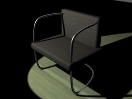 3D chair by the-kender