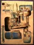 Cubist Chairs by TillDeathDoWePart