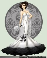 Final Fantasy Wedding: Tifa by caressa-tea