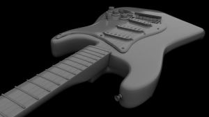 Stratocastor in Maya 1 by Lampyjay
