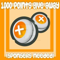 1000 Point give away (SPONSERS NEEDED) by TonOfPoinstGiveAways