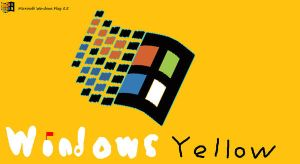 Windows Yellow by yonicdeviant