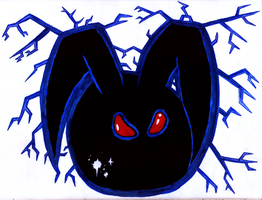 Black Bunny by jonnay