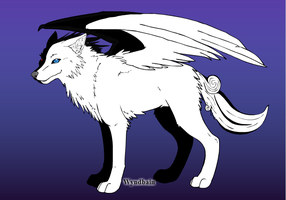 Soul (wolf form) by Bysthedragon