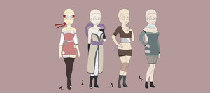 Adoptable SET 1 -OPEN by SirBrother
