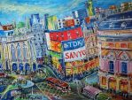 Piccadilly-Circus large by LauraHolArt
