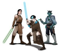 Republic task force of the Clone Wars by Seithe