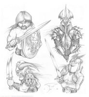 Warriors 2 by mavartworx
