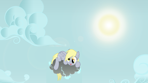 Derpy on a Cloud by Puppies567