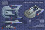 STAR TREK - ICICLE: USS ICICLE / NCC-79823 by ulimann644