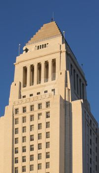 Los Angeles City Hall by hlehnerer