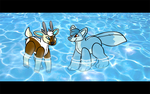 [C] Pool Party by CassMutt