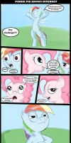 Pinkie Pie knows internet by NeroScottKennedy