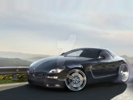 BMW Z8 2010 Concept -Front by PepiDesigns