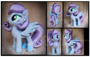 Commission: Cloudy Dreamscape Custom Plush by Nazegoreng