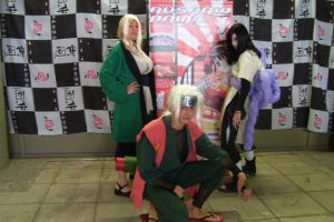 Cosplay los 3 Sannin by Ema2220