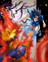sasuke vs naruto pt1 revisited by zhane00