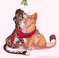xmas is in the air by kotenokgaff