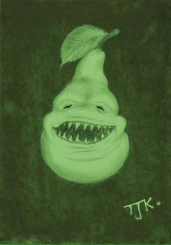 The Biting Pear by TeroRock