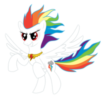 Super Rainbow Dash - Harmony Active by Klonoa-Rainbow-Dash