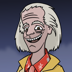 Doc Brown by Starflier
