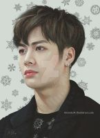 Jackson Wang by BlueBerry-is-cute
