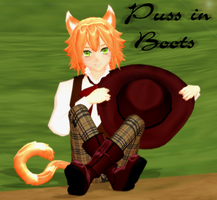 MMD Puss in Boots by Ketrin-tyan
