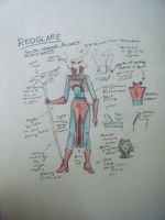 Redglare Cosplay Notes by LesGloryDays30