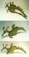 weedy sea dragon by palaeorigamipete