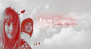 Renee O'Connor - shining Star by ATildeProduction
