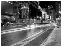 Times Square long exposure by bestill