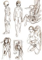 Portal 2 - More sketches by Brainiac6Techgirl