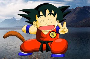 Kid Goku - cute by eggmanrules