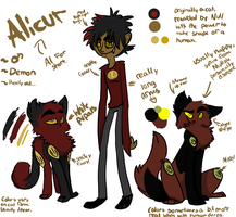 Alicur- ref sheet by Razzifur