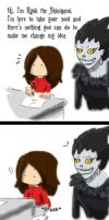 If you meet a shinigami... by FEuJenny07