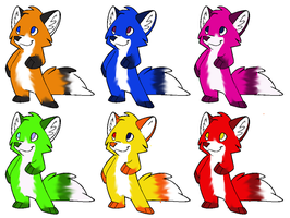 ~FOX ADOPTS!~ OPEN! by N1GHTWOLFXD