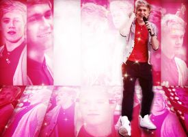 Niall  Horan  Pink  Wallpaper by JoDirectioner