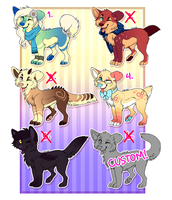 Set Price Adopts (ALL CLOSED) by JollyMutt