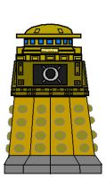 'Time War' Special Weapons Gunner Dalek [ Front ] by DoctorWhoOne