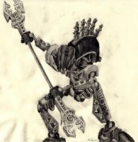 Black Bionicle by bluepiccolo