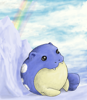 Spheal on Ice by Arbre