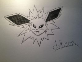 Jolteon by ThunderJess