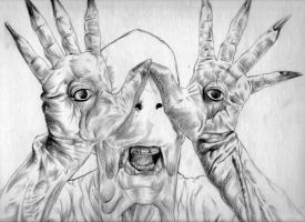 Pans Labyrinth - Pale Man by Synbag